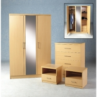 Brent Bedroom Set in Beech