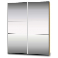 Fleetwood Mirrored Sliding Wardrobe