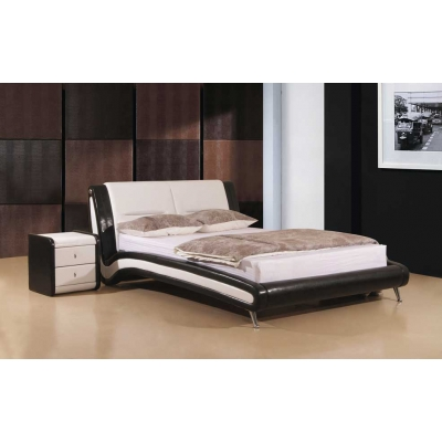 Holbon PU Leather Bed Frame, King size 5'