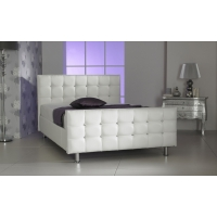 Alina PU Leather Diamante Bed Frame.
