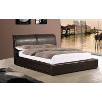 Murberry PU Leather Bed Frame, King size 5'