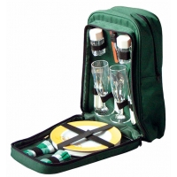 Picnic Backpack Set Insulated Rucksack with 2 Place Settings