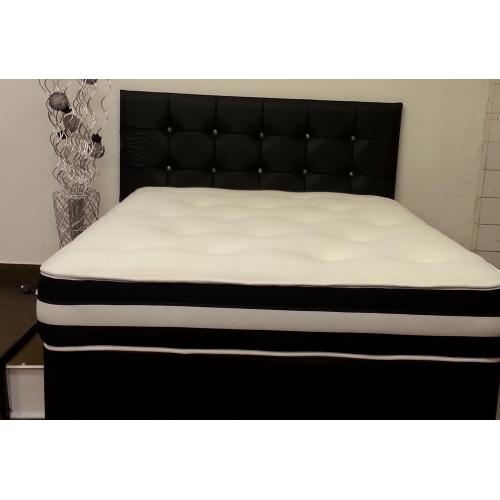 Pocket air flow memory foam divan bed for Memory foam divan