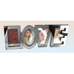Mirrored Love Photo Frame
